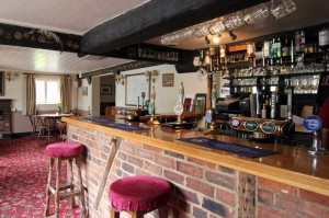 The welcoming Kentish Horse bar area