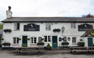 The Kentish Horse free house pub, Markbeech near Hever Castle