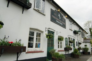 The Kentish Horse free house pub, Markbeech near Hever Castle