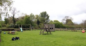 Our enclosed children's play area